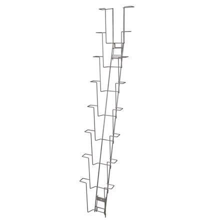 Wandhalter mit 8 Fächern für Format A4