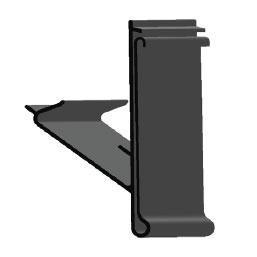 Scannerschiene - H: 39 mm