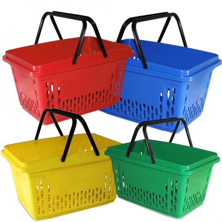 Einkaufskorb mit 2 Bügel, 40 Liter