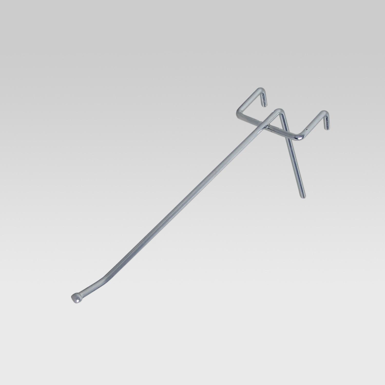 Einfachhaken, alu, L = 100 mm