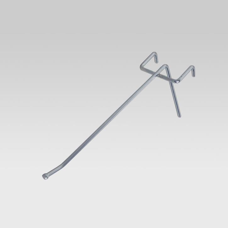 Einfachhaken, alu, L = 150 mm