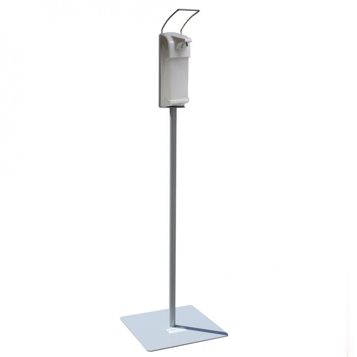 Hygienestation Light mit Spender Metall