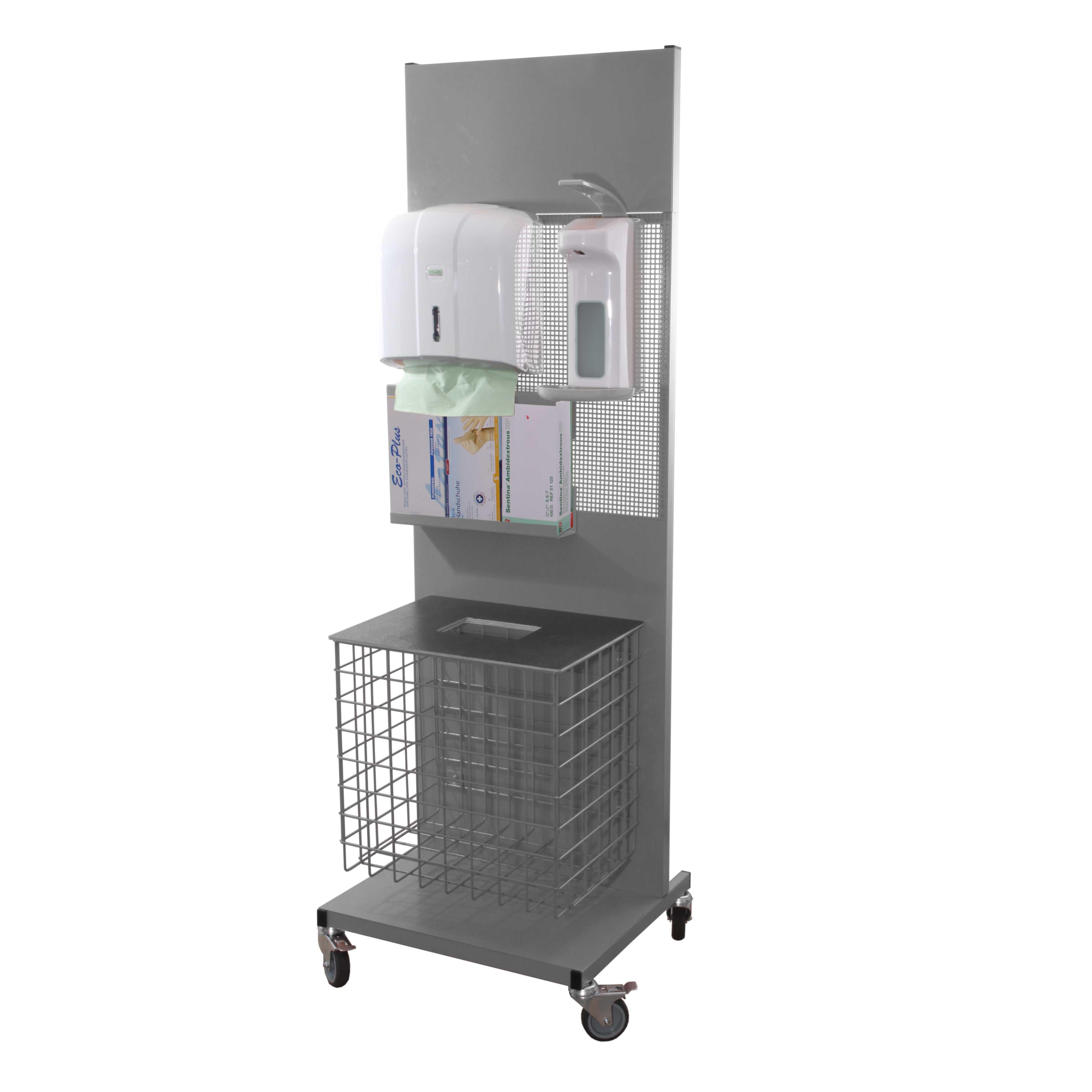 Hygienestation Premium in RAL 7026