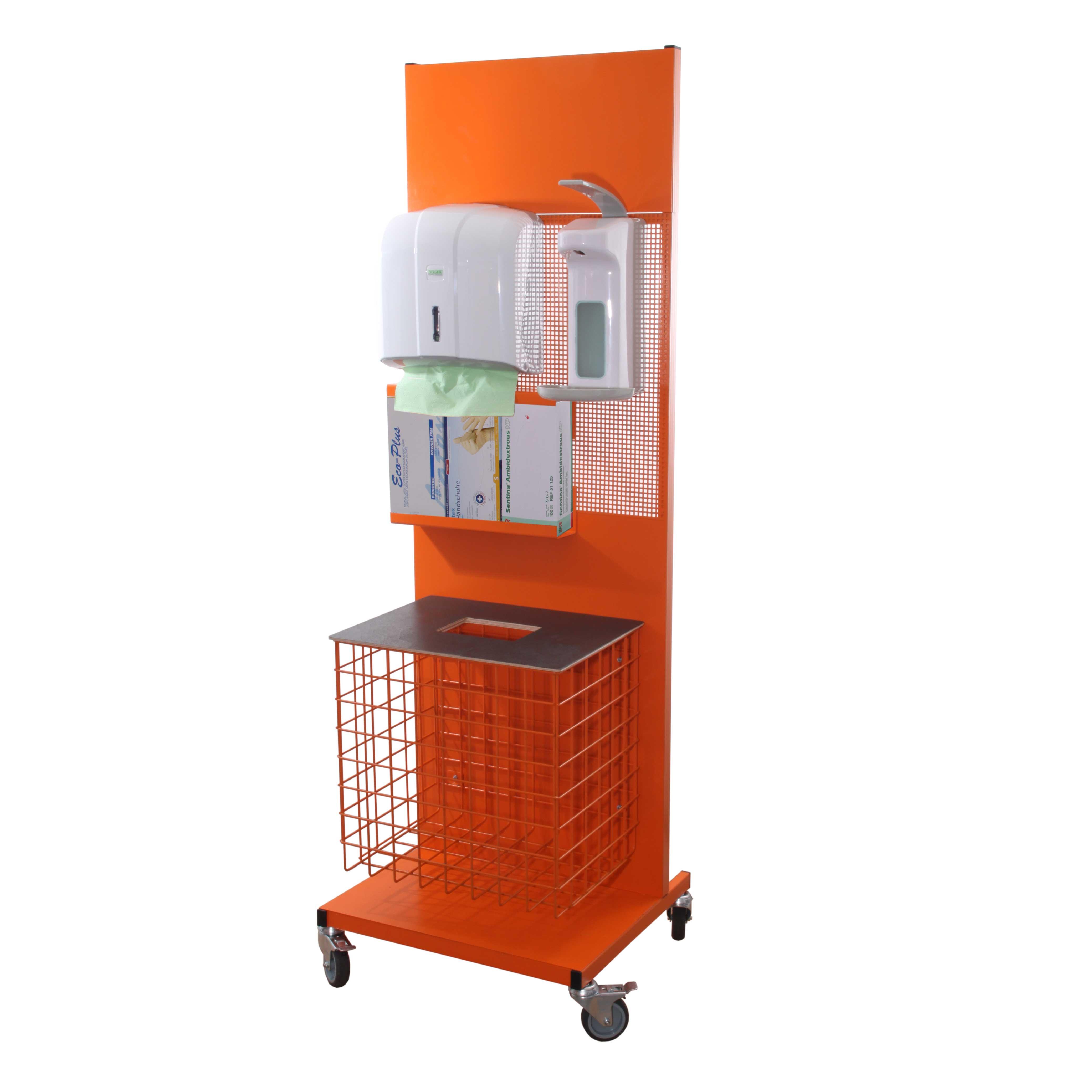 Hygienestation RAL2011 Tieforange