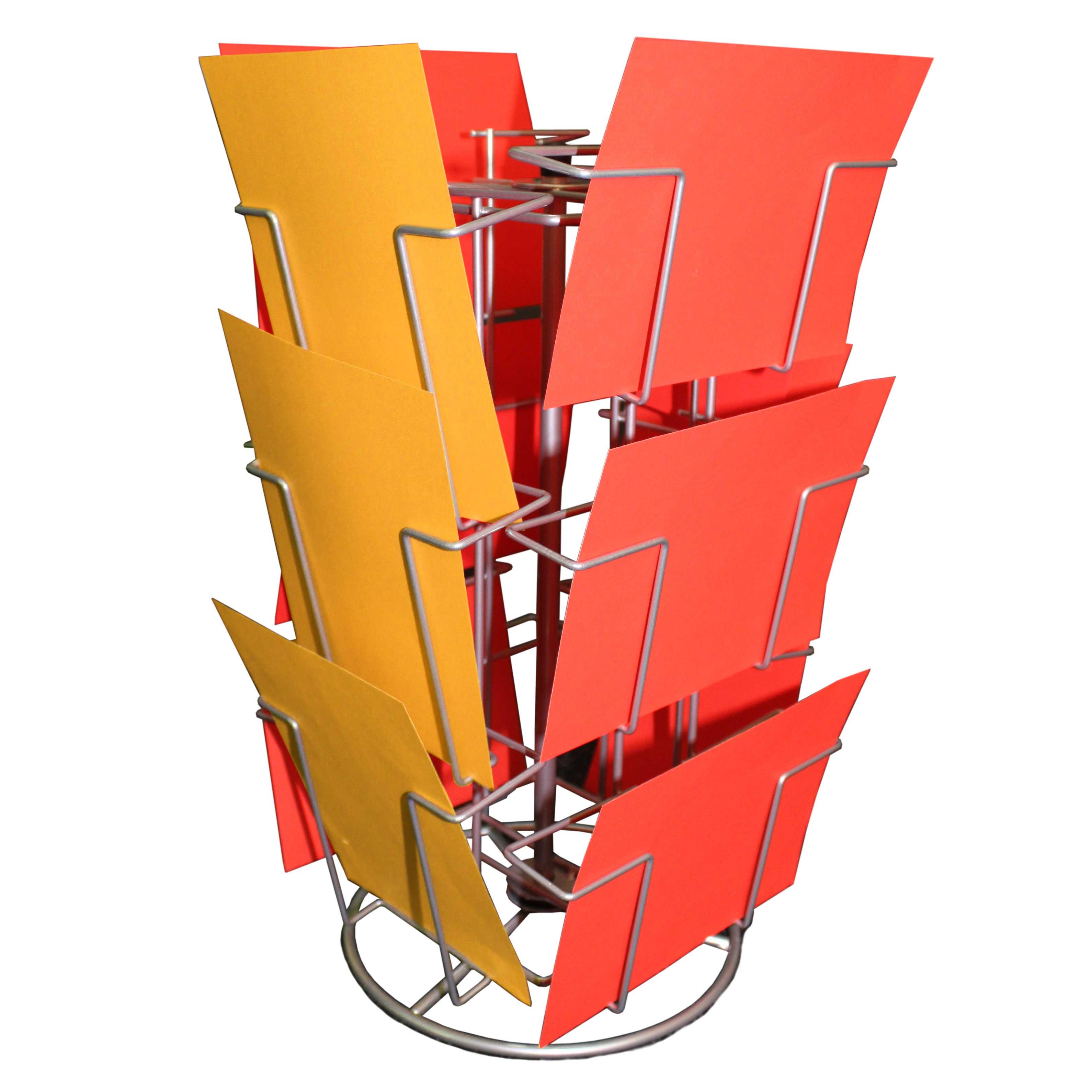 Kartenständer mit 12 Fächern 130x180mm Gemischt