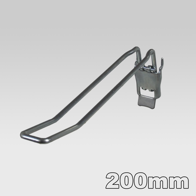 Doppelhaken mit Klappverschluss L= 200mm