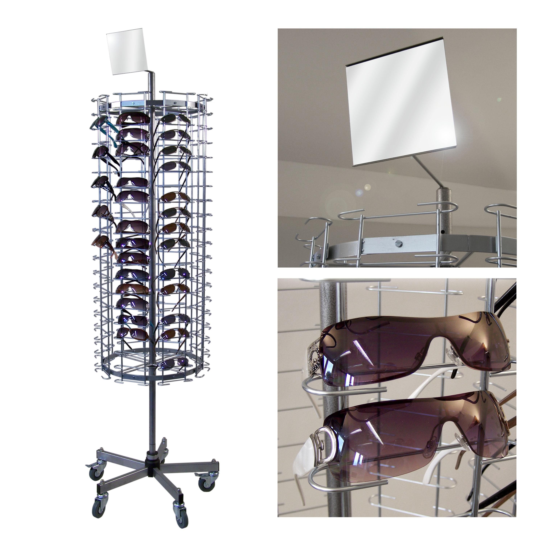 Brillenständer für 160 Brillen, Fuß standard