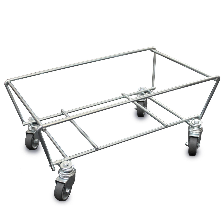 Korbwagen für Einkaufskörbe Untergestell mit Rolle