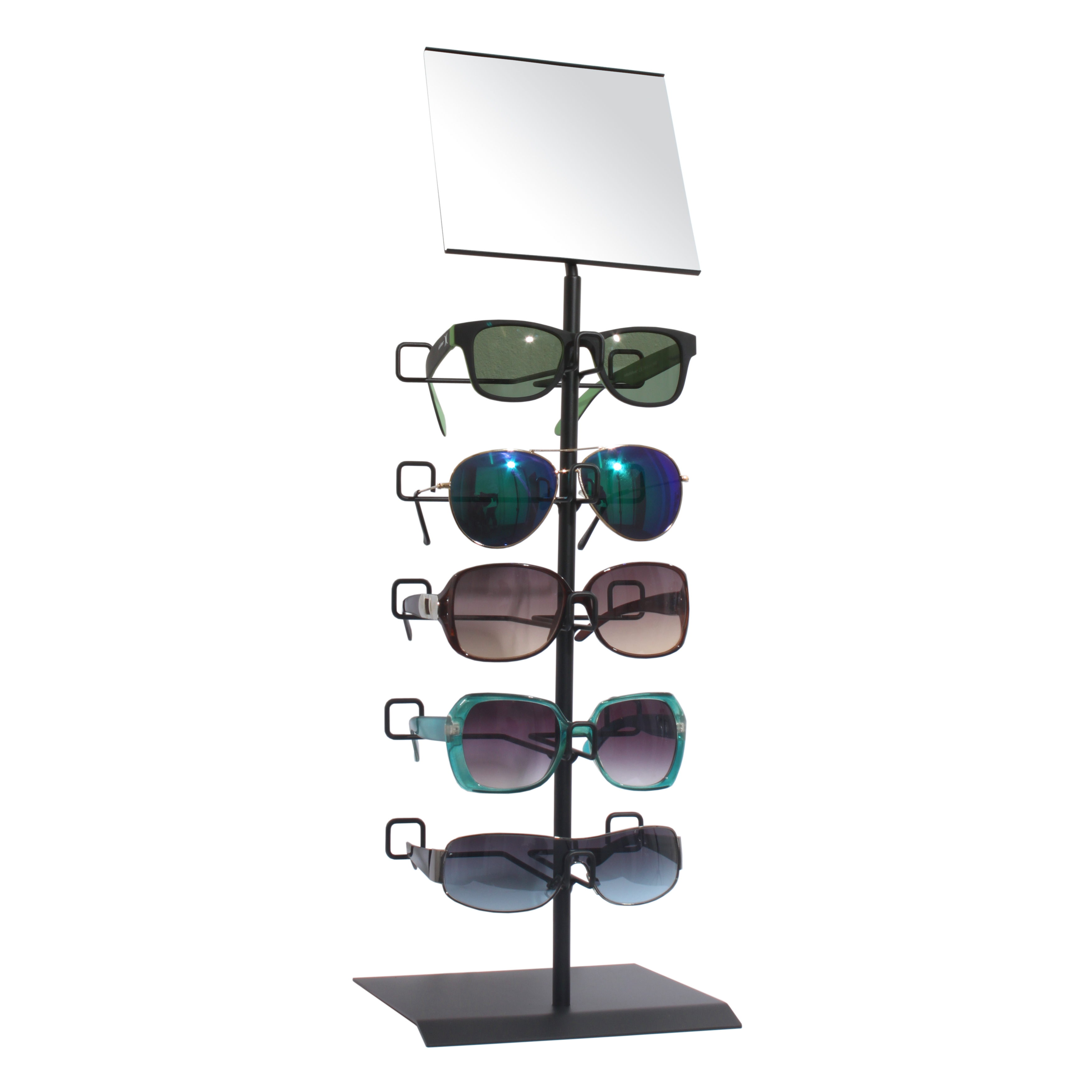 Brillenständer für 5 Brillen in schwarz-308 005