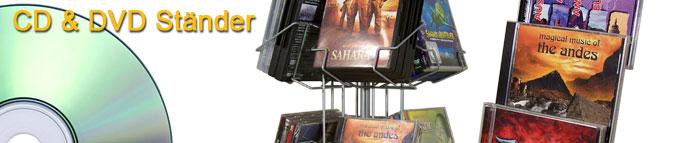 CD & DVD Ständer