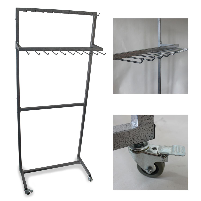design g rtelst nder 2 etagen 20 haken 160mm 200 501. Black Bedroom Furniture Sets. Home Design Ideas