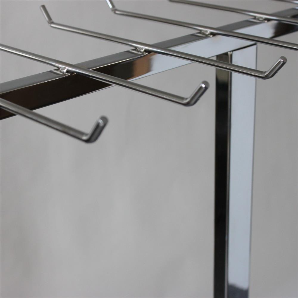 design g rtelst nder verchromt mit 16 haken 200 500. Black Bedroom Furniture Sets. Home Design Ideas