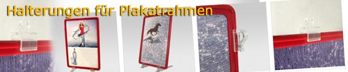 Halterungen für Plakatrahmen