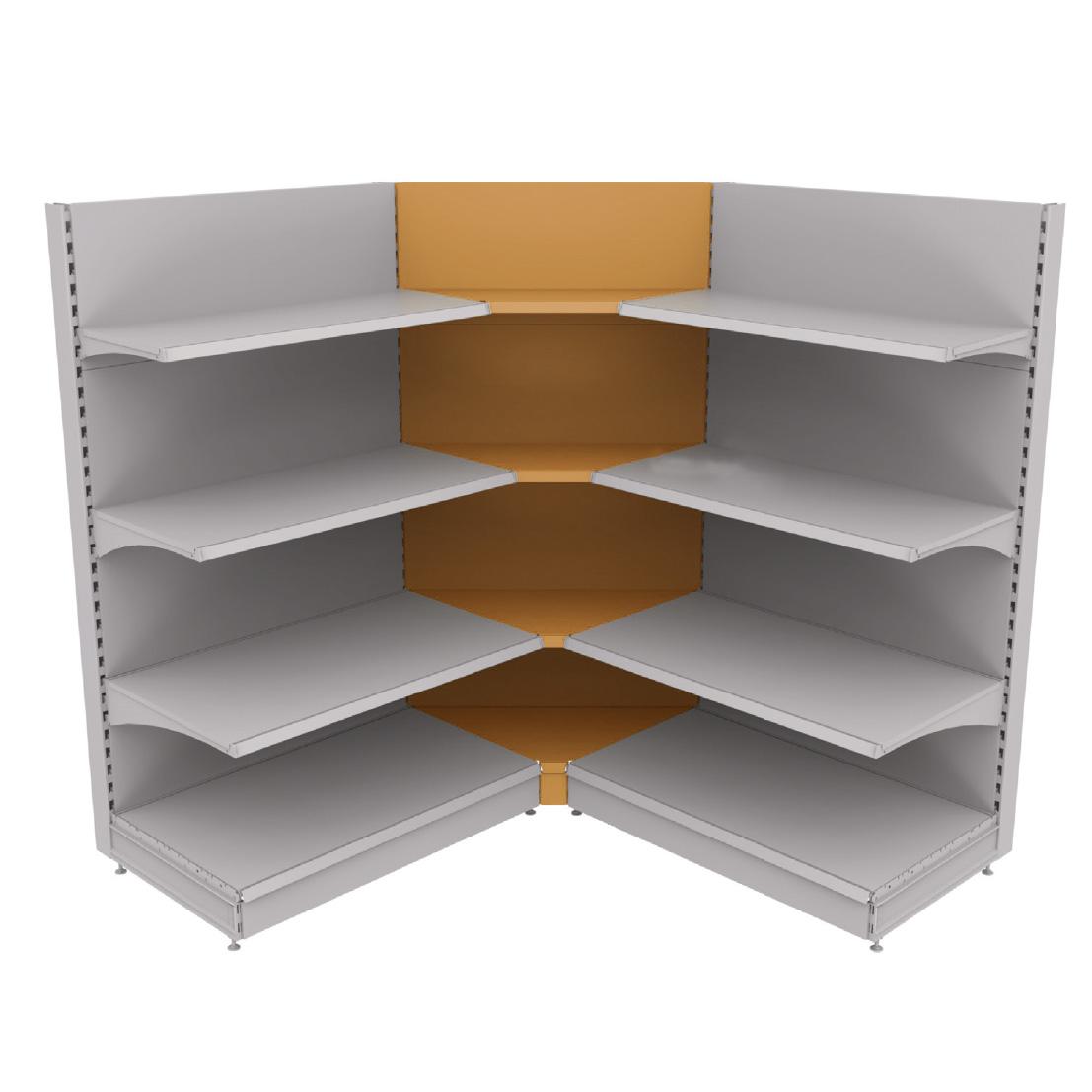 regalsystem ecke mit glatter r ckwand me regalsystem basic ecke. Black Bedroom Furniture Sets. Home Design Ideas