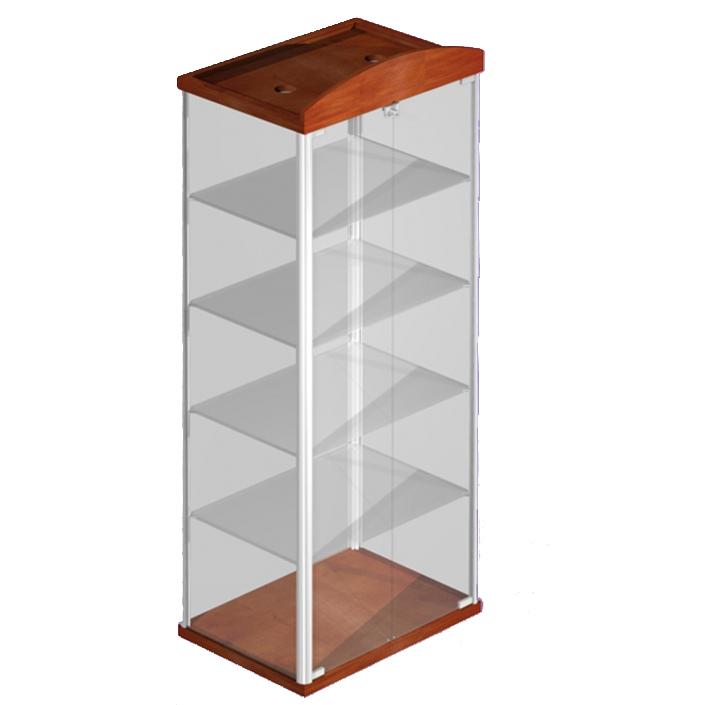 vitrine f r schmuck abschlie bar aus holz und glas vitrine w16. Black Bedroom Furniture Sets. Home Design Ideas