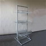 Verkaufsständer mit Gitterwand