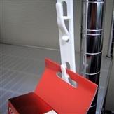 Merchandisingstrip, Kunststoffstrip, 6 Haken