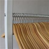 Etagen Kleiderständer mit 4 Etagen  L=150cm