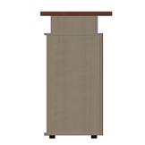 Design Theke Tresen aus Holz 106x138x60cm