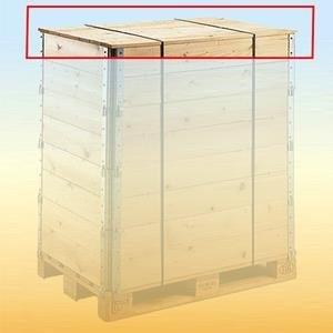Deckel für Holzaufsetzrahmen 210 600