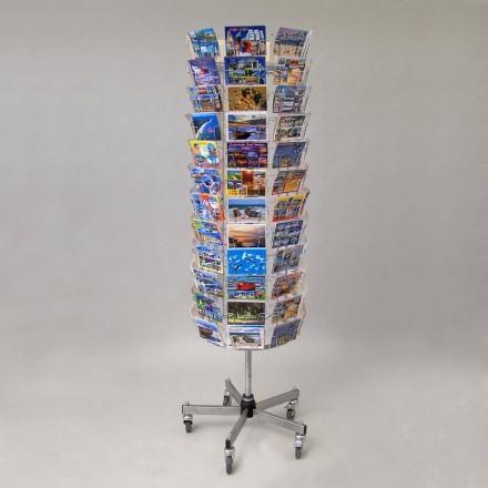 Postkartenständer mit 96 Fächern nur Querformat - Querformat 96 | Querformat 96