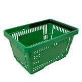Einkaufskorb mit 1 Bügel,21 Liter, grün