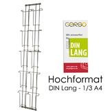 Doppel Kartenleiste DIN Lang C6 & C5 10 Fächer HF