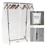 Schutzhülle Abdeckhaube für Kleiderständer 150 cm Breit