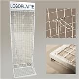 Gitterständer Verkaufsständer mit Gitterwand inkl. 100 Haken