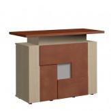 Design Theke Tresen aus Holz 106x138x60cm C