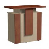 Design Theke Tresen aus Holz 106x108x60cm