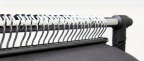 DIN lang DL 1/3 A4 Prospekthalter Acryl-Spritzguß