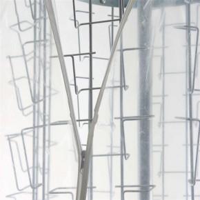 Schutzhülle Abdeckhaube für Postkartenständer 60cm