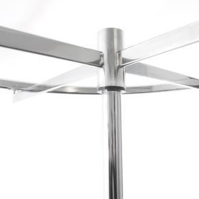 Ringständer auf Rollen Durchmesser 100cm Traglast 100kg mit Höhenverstellung