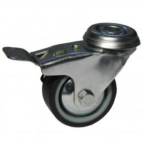 Lenkrolle 50mm, mit Bremse, M8 Gewinde