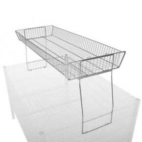 Aufsatz zum Wühltisch (HxBxT)= 105 x 1090 x 370 mm