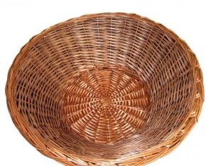 Verkaufskorb, Korbständer aus Weide Korbhöhe 250mm