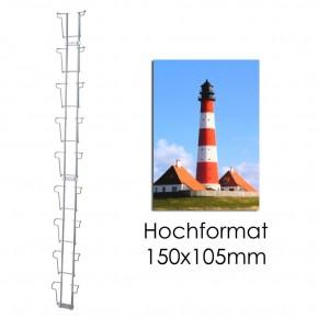 Postkartenleiste mit 9 Fächern HF 105 mm
