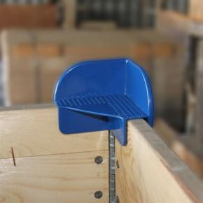 Stapelecke für Holzaufsatzrahmen