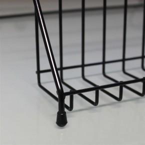 Grußkarten-Ausstellungsstand schwarz - Schwarz | Schwarz