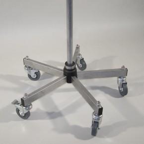 Grundständer Standard D=600 mm inkl. Profi-Rollen