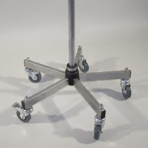 Grundständer Standard D=800 mm inkl. Profi-Rollen