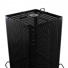 Lochplattenständer mit 4 Lochplatten, schwarz