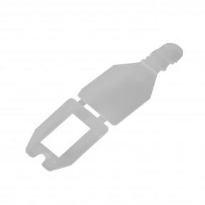 Pendelclip, Etikettenfähnchen für Blisterhaken,