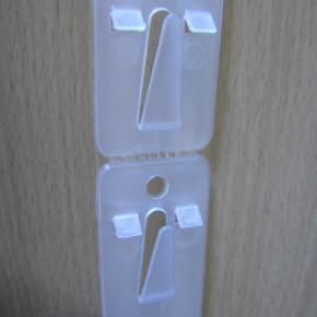 Merchandisingstrip, Kunststoffstrip, 12  Haken