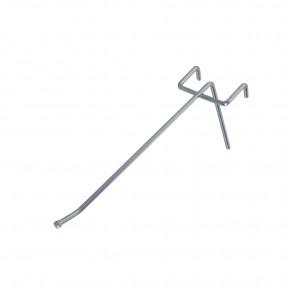 Einfachhaken, alu, L = 260 mm