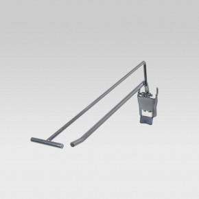 Einzelhaken mit Klappverschluss, L= 200 mm - 200mm 4,8mm   200mm 4,8mm