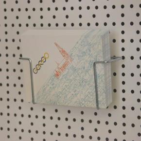 Postkartenfach im Querformat