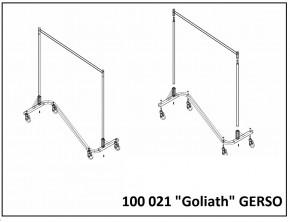 Schwerlast Kleiderständer Goliath Industrieständer - Gelb | Gelb