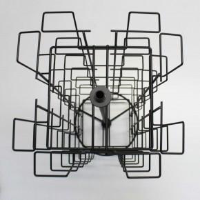 Thekenpostkartenständer; 24 Fächer; 180 x 130mm